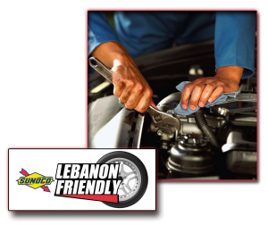 Lebanon Friendly Sunoco Servies domestic and foreign vehicles